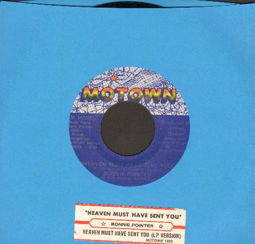 Pointer, Bonnie - Heaven Must Have Sense You/Heaven Must Have Sent You (LP Version) (with juke box label) - EX8/ - 45 rpm Records