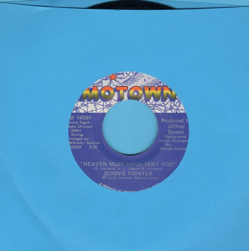 Pointer, Bonnie - Heaven Must Have Sent You (2 different versions) - EX8/ - 45 rpm Records