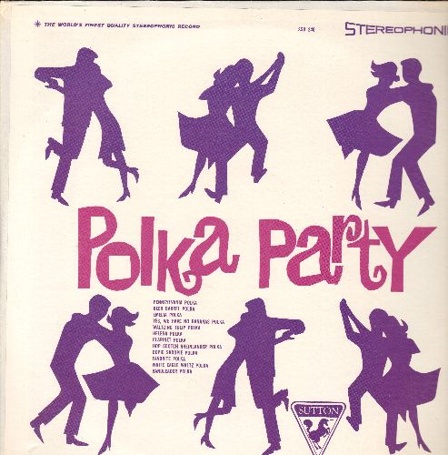 Polka Party - Polka, Polka, Polka: Pennsylvania Polka, Beer Barrel Polka, Helena Polka, Yes We Have No Bananas Polka (Vinyl STEREO LP record, PARTY FAVORITE!) - NM9/VG7 - LP Records
