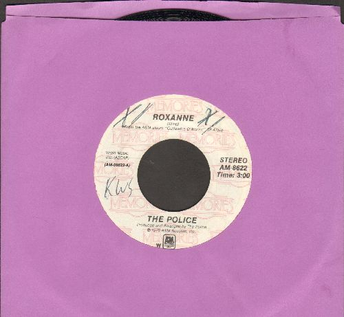 Police - Roxanne/Can't Stand Losing You (double-hit re-issue) (wol) - NM9/ - 45 rpm Records