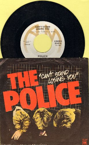 Police - De Do Do Do, De Da Da Da/Friends (with picture sleeve) - NM9/EX9 - 45 rpm Records