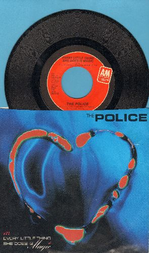 Police - Every Little Thing She Does Is Magic/Shambelle (with picture sleeve) - EX8/EX8 - 45 rpm Records