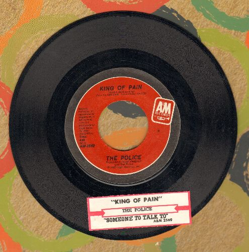 Police - King Of Pain/Someone To Talk To (with juke box label) - NM9/ - 45 rpm Records