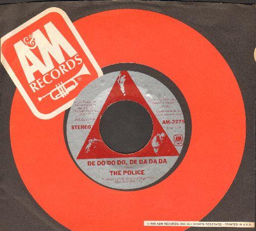 Police - De Do Do Do, De Da Da Da/Friends (with A&M company sleeve) - NM9/ - 45 rpm Records