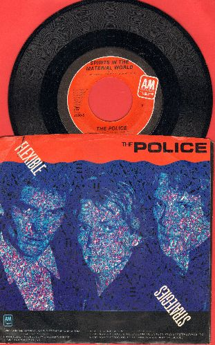 Police - Flexible Strategies/Spirits In The Material World (with picture sleeve) - NM9/EX8 - 45 rpm Records
