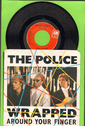 Police - Wrapped Around Your Finger/Tea In The Sahara (with picture sleeve) - NM9/EX8 - 45 rpm Records
