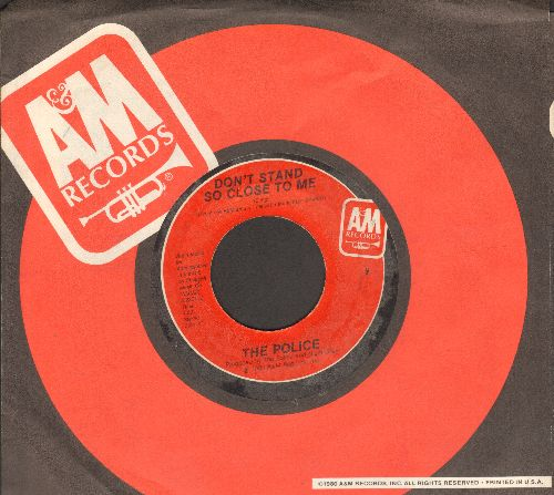 Police - Don't Stand So Close To Me '86/A Sermon  - NM9/ - 45 rpm Records