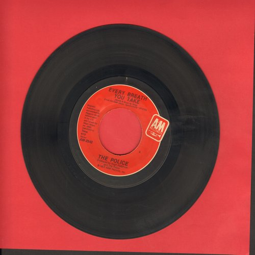 Police - Every Breath You Take/Murder By Number - EX8/ - 45 rpm Records