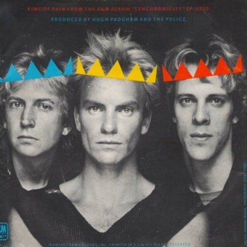 Police - King Of Pain/Someone To Talk To (with picture sleeve and juke box label) - NM9/EX8 - 45 rpm Records