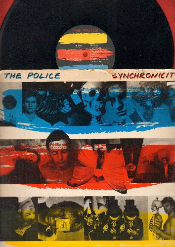 Police - Sunchronicity: Every Breath You Take, King Of Pain, Synchronicity II (Vinyl STEREO LP record) - EX8/VG6 - LP Records