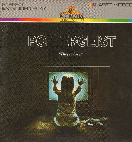 Poltergeist - Poltergeist - LASER DISC version of the Spielberg Sci-Fi Classic (This is a LASER DISC, not any other kind of media) - NM9/EX8 - Laser Discs