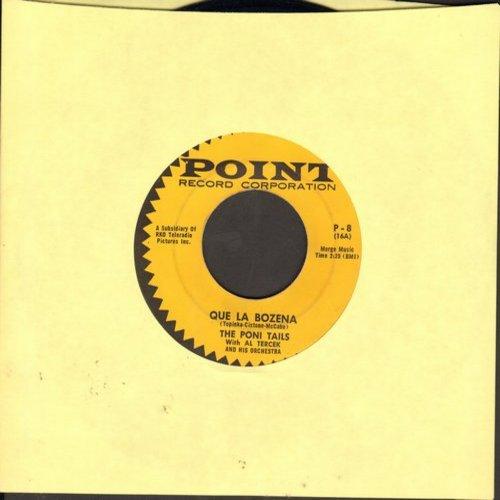 Poni-Tails - Que La Bozena/Your Wild Heart - VG7/ - 45 rpm Records
