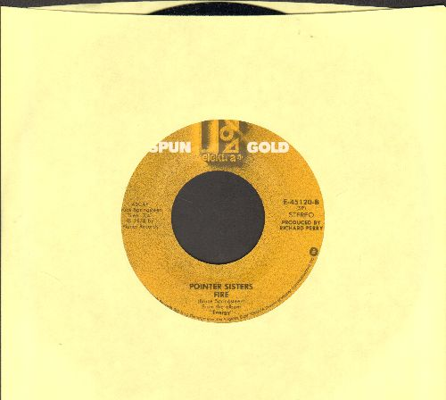 Pointer Sisters - Fire/He's So Shy (double-hit re-issue) - NM9/ - 45 rpm Records