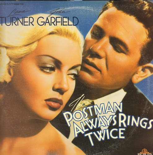 The Postman Always Rings Twice - The Postman Always Rings Twice - LASERDISC version of the Classic 1946 Drama starring Lana Turner and John Garfield (This is a LASERDISC, not any other kind of media!) - NM9/EX8 - LaserDiscs