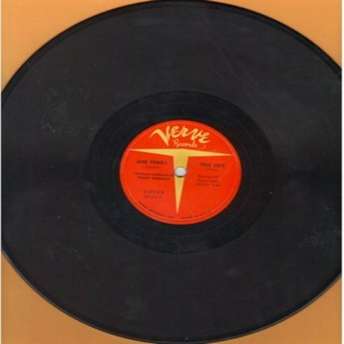 Powell, Jane - True Love/Mind If I Make Love To You (10 inch 78rpm record) - VG7/ - 78 rpm