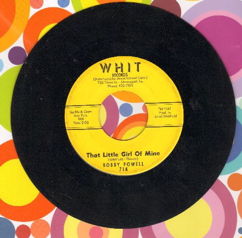 Powell, Bobby - That Little Girl Of Mine/C. C. Rider - VG6/ - 45 rpm Records