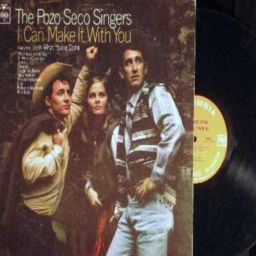 Pozo-Seco Singers - I Can Make It With You: Look What You've Done, If I Were A Carpenter, Johnny, Changes, Almost Persuaded, Blue Eyes (vinyl MONO LP record) - NM9/VG7 - LP Records