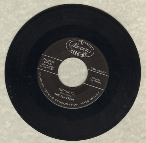 Platters - Enchanted (featured in series -Breaking Bad-)/The Sound And The Fury - EX8/ - 45 rpm Records