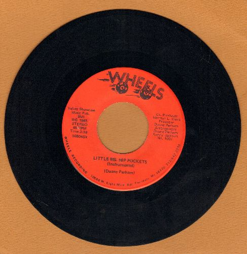 Parham, Duane - Little Ms. Hip Pockets/Little Ms. Hip Pocket (Instrumental) - NM9/ - 45 rpm Records