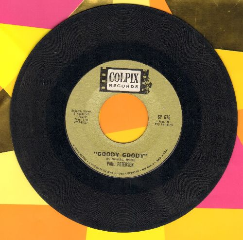 Petersen, Paul - Goody Goody/Amy  - VG7/ - 45 rpm Records