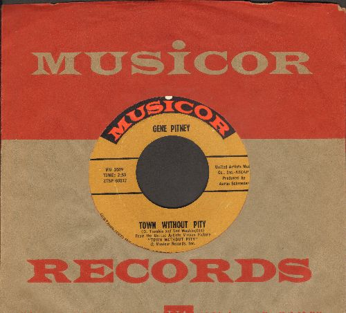 Pitney, Gene - Town Without Pity/Air Mail Special Delivery (with Musicor company sleeve) - NM9/ - 45 rpm Records