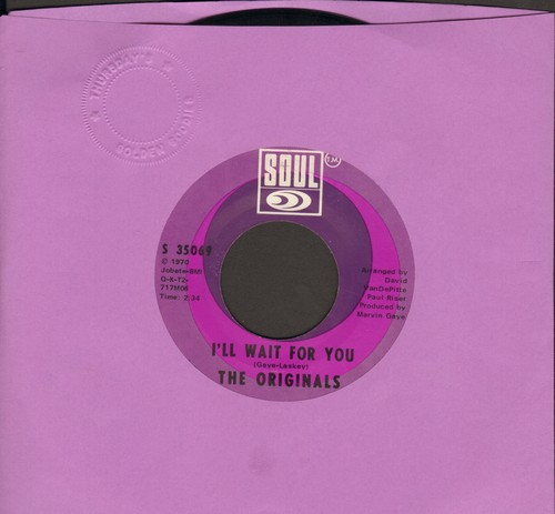 Originals - I'll Wait For You/The Bells - NM9/ - 45 rpm Records