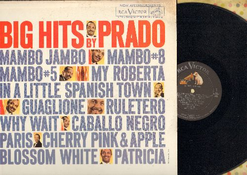 Prado, Perez  - Big Hits By Prado: Mambo #8, Mambo Jambo, In A Little Spanish Town, Cherry Pink & Apple Blossom White, Patricia, Mambo #5 (Vinyl STEREO LP record) - EX8/EX8 - LP Records