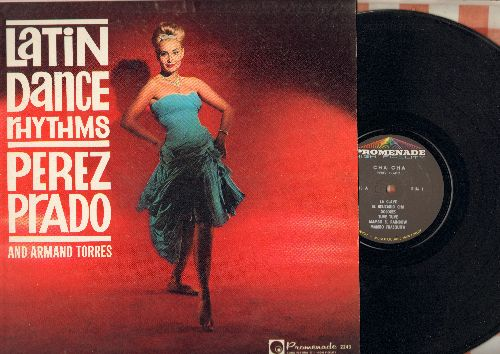 Prado, Perez - Cha Cha - Latin Dance Rhythms: La Clave, Mambo Frasquita, Dolores, Chiquita Mia, Mambo Fandango (Vinyl MONO LP record) - M10/EX8 - LP Records