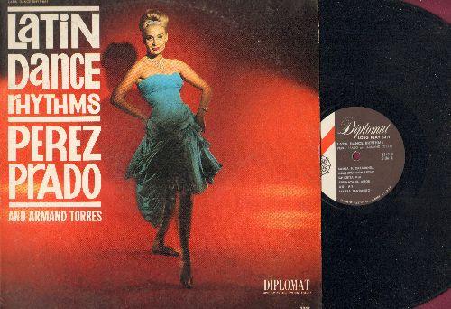Prado, Perez & Armand Torres - Latin Dance Rhythms: Mambo El Rainbow, Chiquita Mia, Dolores, Mambo Fandanco (Vinyl MONO LP record) - EX8/VG7 - LP Records