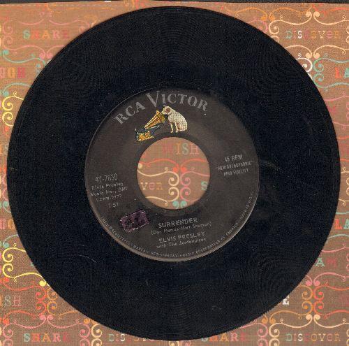 Presley, Elvis - Surrender/Lonely Man  - EX8/ - 45 rpm Records