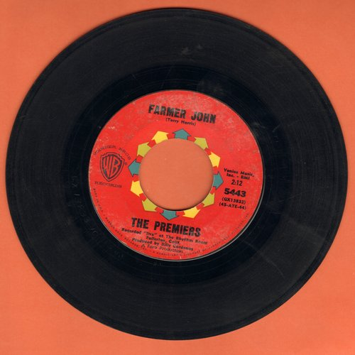 Premiers - Farmer John/Duffy's Blues  - EX8/ - 45 rpm Records