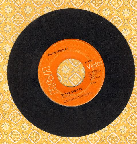 Presley, Elvis - In The Ghetto/Any Day Now - VG7/ - 45 rpm Records