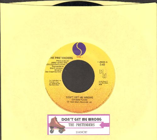 Pretenders - Don't Get Me Wrong/Dance! (with juke box label) - NM9/ - 45 rpm Records
