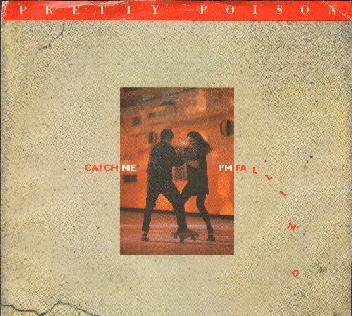 Pretty Poison - Catch Me I'm Falling (long and short version with picture sleeve) - NM9/EX8 - 45 rpm Records