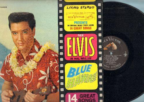 Presley, Elvis - Blue Hawaii - An Original Sound Track Album - 14 Great Songs: Can't Help Falling In Love, Moonlight Swim, Hawaiian Wedding Song (vinyl STEREO LP record) - EX8/EX8 - LP Records