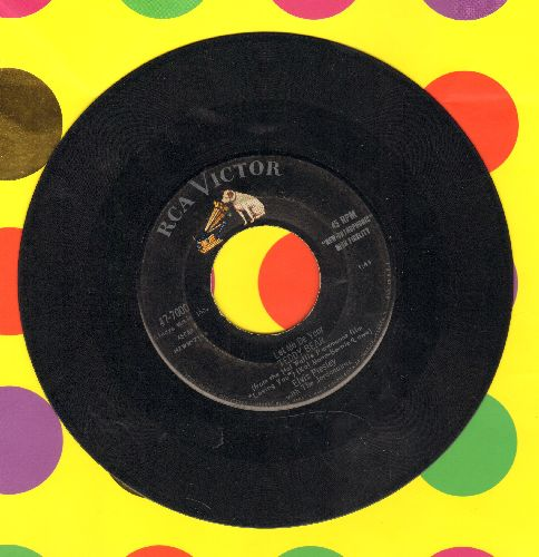 Presley, Elvis - Teddy Bear/Loving You (first issue) - VG7/ - 45 rpm Records