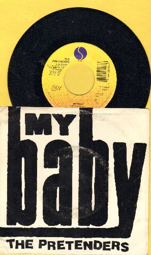 Pretenders - My Baby/Room Full Of Mirrors (with picture sleeve) - NM9/VG7 - 45 rpm Records