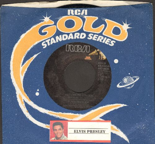 Presley, Elvis - Return To Sender/Where Do You Come From (re-issue with RCA company sleeve) - NM9/ - 45 rpm Records
