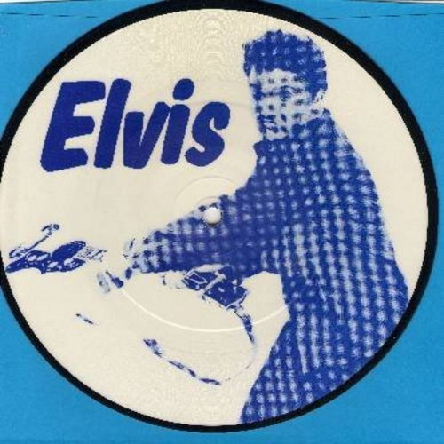 Presley, Elvis - Remembers Vol. 1 - 1960 Press Conference Recorded at Gracelands (Unedited 13 minutes version) - vinyl 7 inch 33rpm EP picture disc with small spindle hole, UK pressing, 1983 limited edition, Collectors' Item! - M10/ - 45 rpm Records