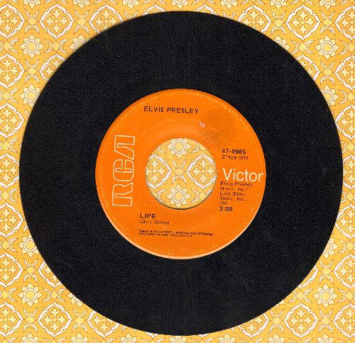 Presley, Elvis - Life/Only Believe - NM9/ - 45 rpm Records