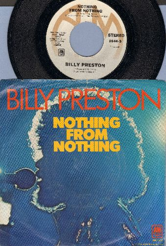 Preston, Billy - Nothing From Nothing/My Soul Is A Witness (with picture sleeve) - NM9/VG6 - 45 rpm Records