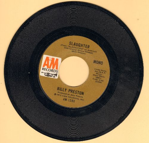 Preston, Billy - Slaughter/God Loves You - EX8/ - 45 rpm Records