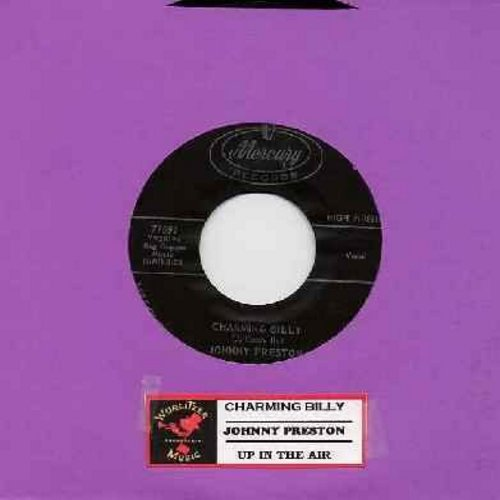 Preston, Johnny - Charming Billy/Up In The Air (with juke box label) - VG7/ - 45 rpm Records