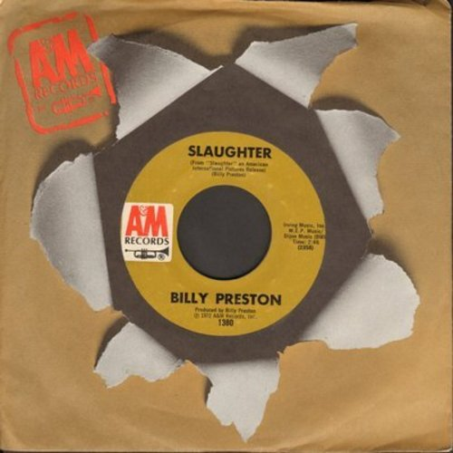 Preston, Billy - Slaughter/God Loves You - M10/ - 45 rpm Records