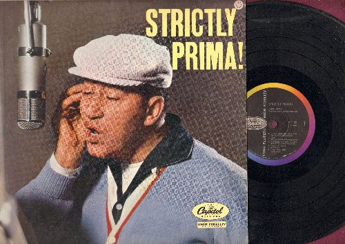 Prima, Louis - Strictly Prima!: Sing Sing Sing, Bourbon Street Blues, Judy, Judy, Gotta See Baby Tonight (vinyl MONO LP record) - EX8/EX8 - LP Records
