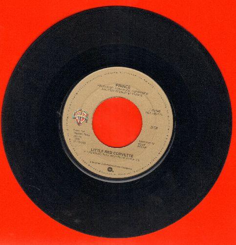 Prince - Little Red Corvette/All The Critics Love U In New York  - VG7/ - 45 rpm Records