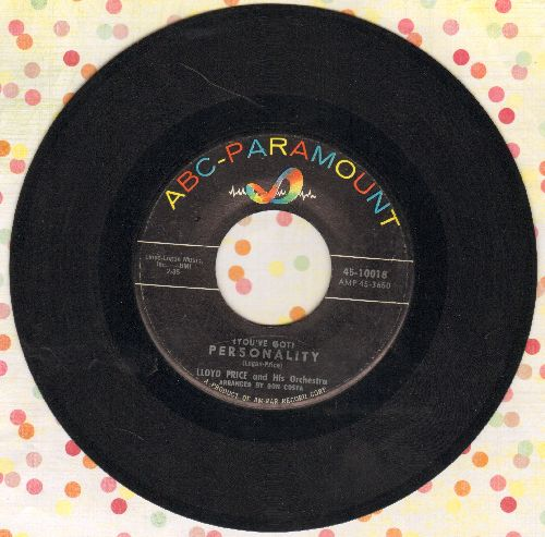 Price, Lloyd - Personality/Have You Ever Had The Blues  - VG7/ - 45 rpm Records