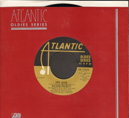 Pickett, Wilson - Hey Jude/Funky Broadway (re-issue with Atlantic company sleeve) - EX8/ - 45 rpm Records