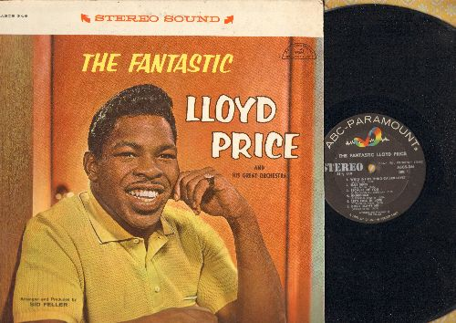 Price, Lloyd - The FantasticBlue Skies, Let's Fall In Love, Jeepers Creepers, Undecided (Vinyl STEREO LP record) - EX8/EX8 - LP Records