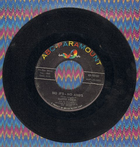 Price, Lloyd - No If's – No And's/For Love - EX8/ - 45 rpm Records